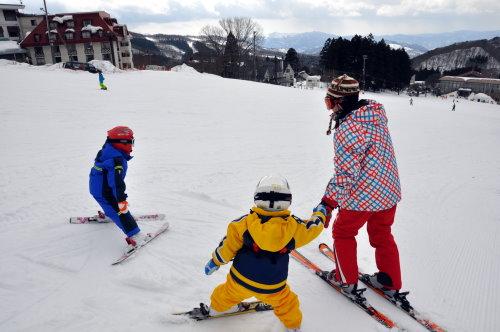 家庭滑雪课程